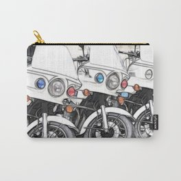 Chips Fractalius Motorbikes Carry-All Pouch