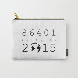 86401 Leap Second 2015 Carry-All Pouch