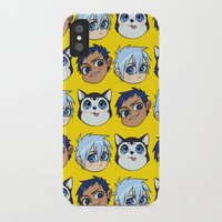 kuroko iPhone & iPod Cases featuring AoKuro family by Jackce