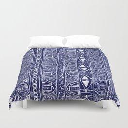 Blue Tribe Duvet Cover