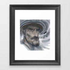 whistle Framed Art Print
