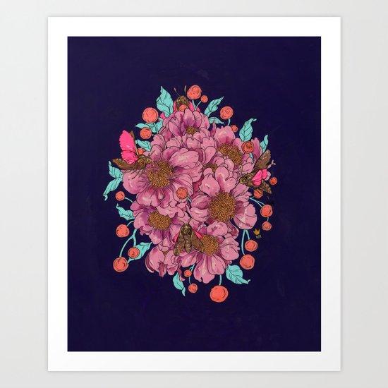 As You Fall Into Me Art Print