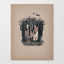 The Tale of Shrou & Neu (verse 30) Canvas Print