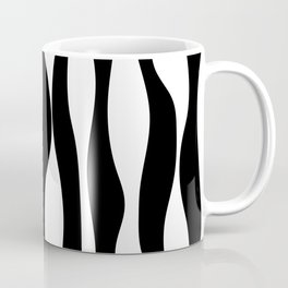 Black & White Print Coffee Mug