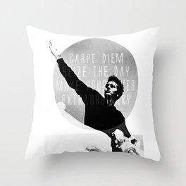 Seize the day! Throw Pillow