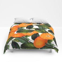 The Forbidden Orange #society6 #decor #buyart Comforters