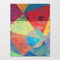 volleyball Canvas Prints featuring Beach Volleyball by Fernando Vieira