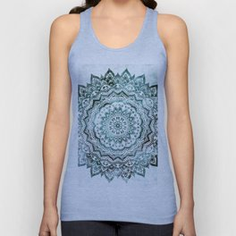 Emerald Jewel Mandala Unisex Tank Top