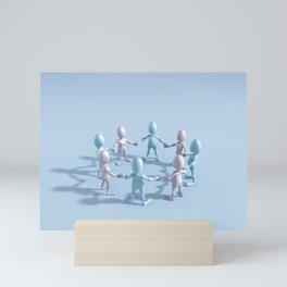 Stronger Together Mini Art Print