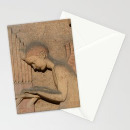 Angel playing organ at the Church of St. Odile Stationery Cards