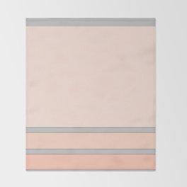 Just Peachy Throw Blanket