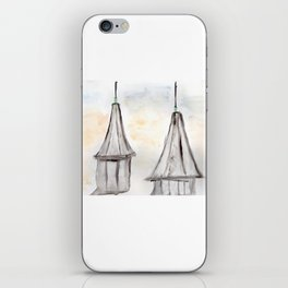Twin Spires Churchill Downs Watercolor Art Louisville, Kentucky iPhone Skin