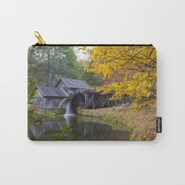 Rustic Mill in Autumn Carry-All Pouch