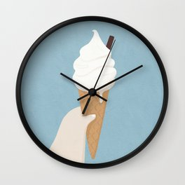 Craving Icecream Wall Clock