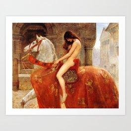 Lady Godiva by John Collier Art Print