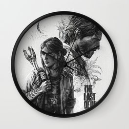 The Last of Us Part II Wall Clock