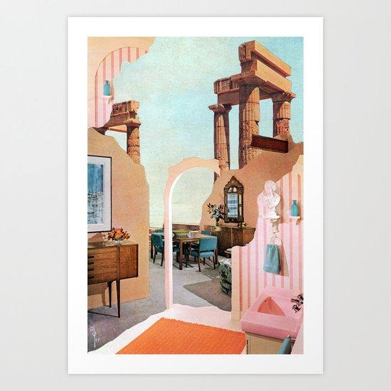 Dream House I Art Print