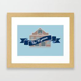 The Ryman Framed Art Print