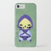 conan iPhone & iPod Cases featuring A Boy - Skeletor by Christophe Chiozzi