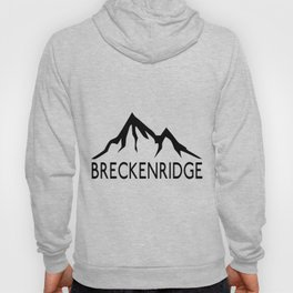 BRECKENRIDGE COLORADO SKIING SKI MOUNTAINS SNOWBOARD Hoody