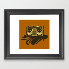 Radio Head Framed Art Print