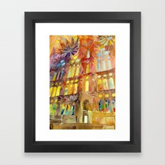Sagrada Familia Framed Art Print