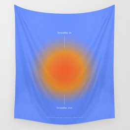 Positive Affirmations Gradient Wall Tapestry