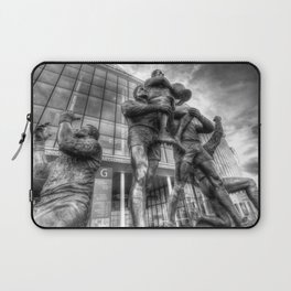 Rugby League Legends statue Wembley stadium Laptop Sleeve