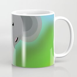 Elbert the Elephant Coffee Mug
