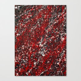 Pollock with Alien Skin Canvas Print