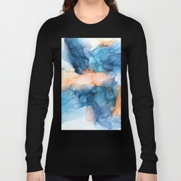 Captivate- Alcohol Ink Painting Long Sleeve T-shirt