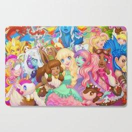 Dollightful Banner Art 2018 Cutting Board