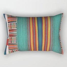 Pin Striped Rectangular Pillow