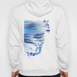 Horse whispered by the wind Hoody