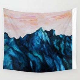 Melting Rocks Wall Tapestry