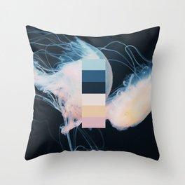 Views & Colour 10 - Kyoto Jellyfish Throw Pillow