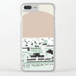 Rooftop view_2 Clear iPhone Case