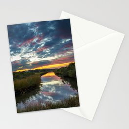 Mississippi Coastal Sunrise Stationery Cards