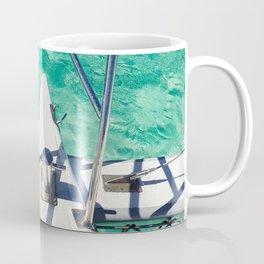 Catamaran green water Coffee Mug