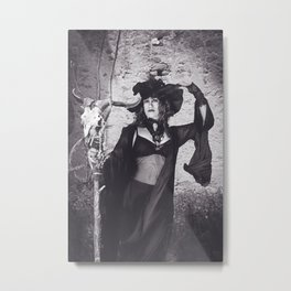 Black Witches Sabbath II  Metal Print