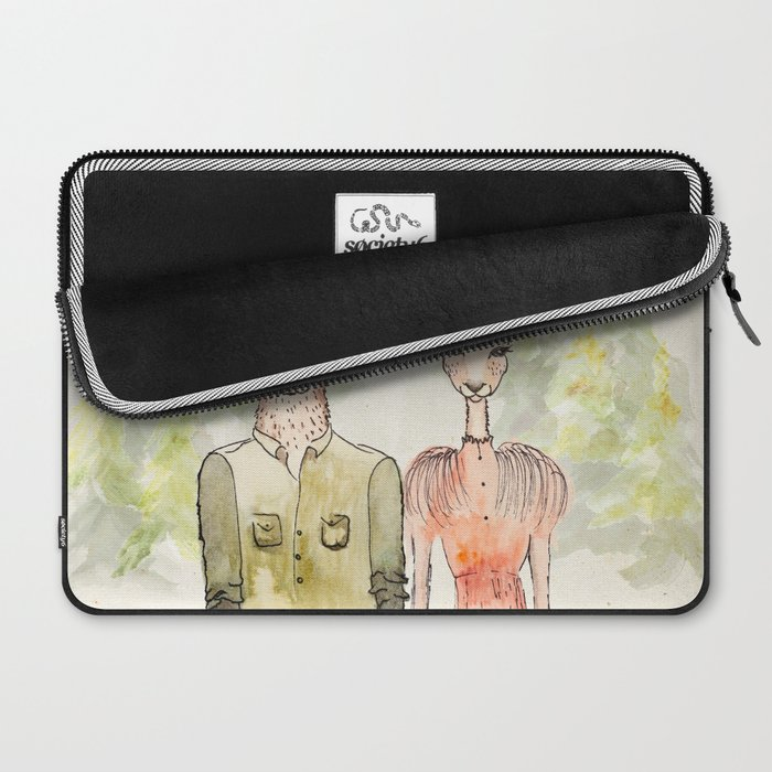 Together in Happy Land Laptop Sleeve