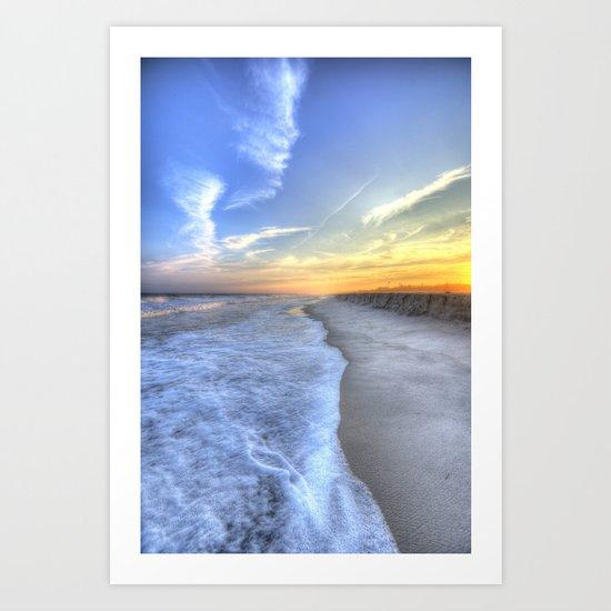 Atlantic Sunset Art Print