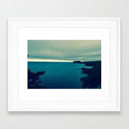 The North Shore Framed Art Print
