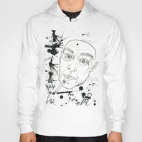 hunter s thompson Hoodies featuring Hunter S Thompson by Nicostman