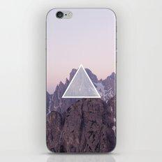 Mountain Triangle iPhone & iPod Skin