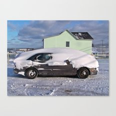 Winter on the East Coast Canvas Print