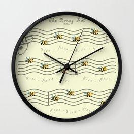 The Honey Pot Wall Clock