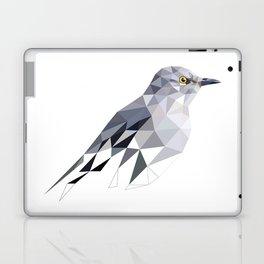 Gray Bird art Mocking Bird Geometric Laptop & iPad Skin