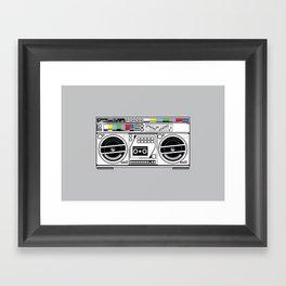 1 kHz #5 Framed Art Print