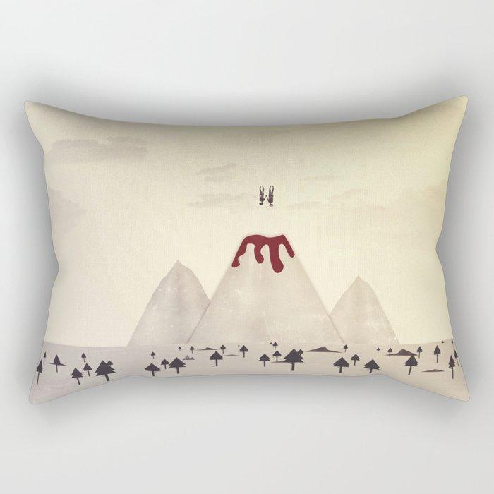 Fall With Me Rectangular Pillow